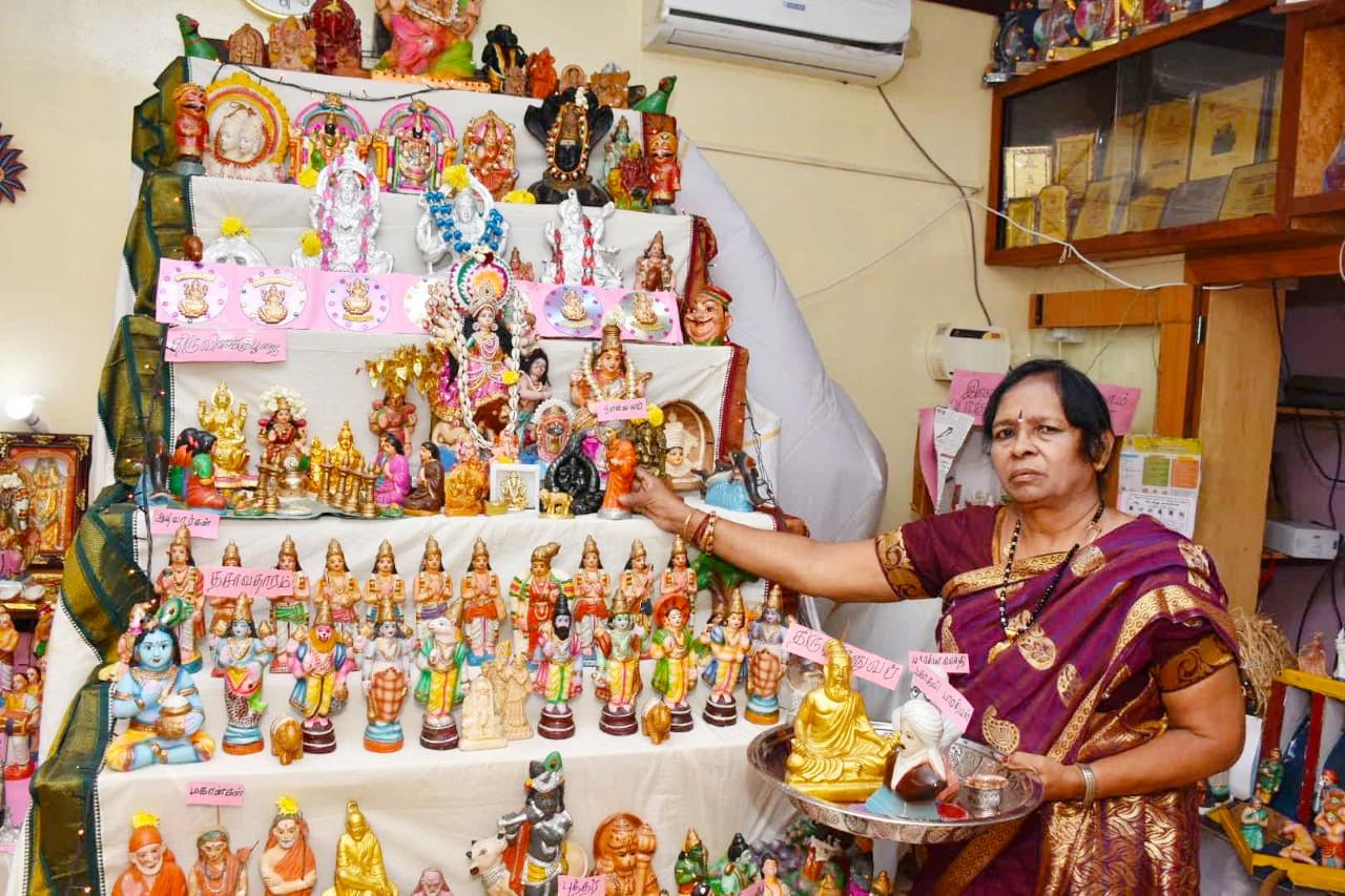 Golu Festival in Lakshmi Rajaram House